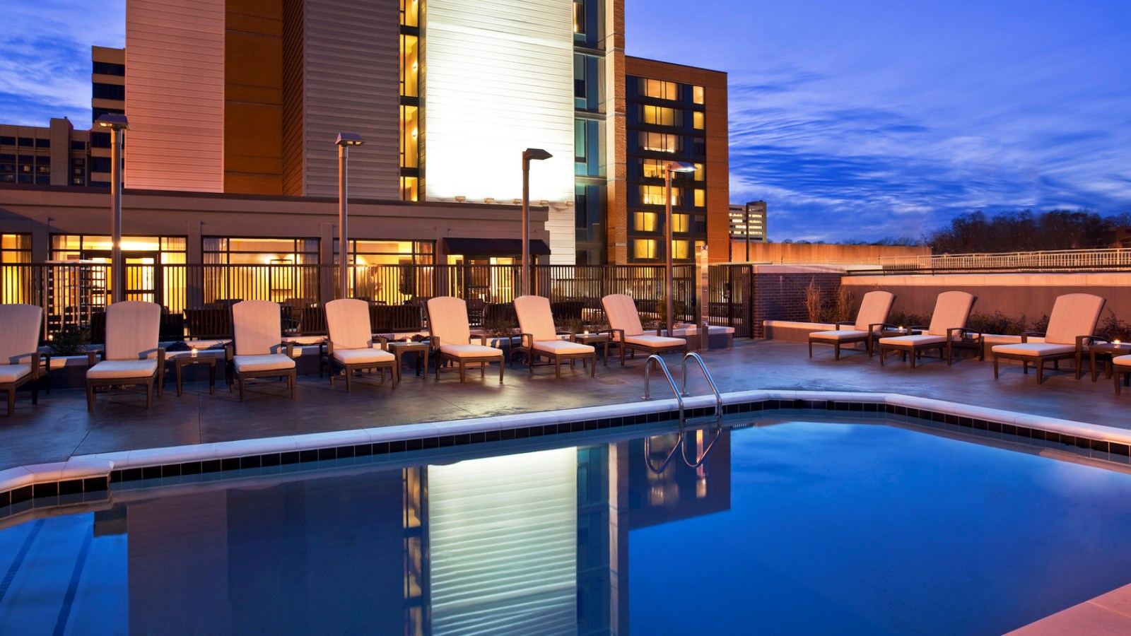 The Westin Birmingham - Rooftop Pool